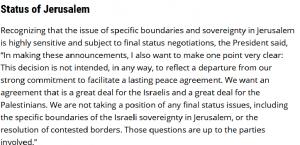 BBC العربية تصحح صياغتها الخاطئة حول اعتراف الإدارة الأميركية بالقدس الموحدة عاصمة لإسرائيل