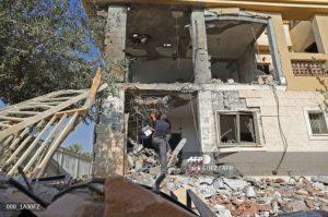 """أين سقط الصاروخ الذي تم إطلاقه من غزة؟ وكالة الأنباء الفرنسية تصحح خطأها بناءً على مراجعة """"كاميرا"""""""